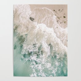 Frothy Fourth Beach Poster