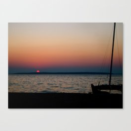 Lovely Sunset Canvas Print
