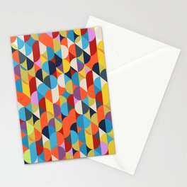 Simple Circle Pattern. Stationery Cards
