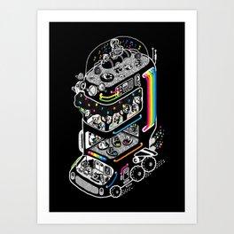 Koala Bus Art Print