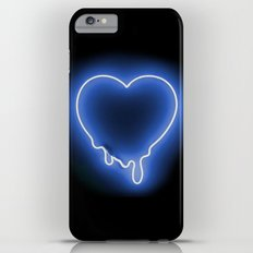 Heart (Blue Neon) Slim Case iPhone 6s Plus