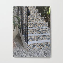 Mosaic stairs in Colombia   Travel photography   Fine Art   Photo Print    Metal Print