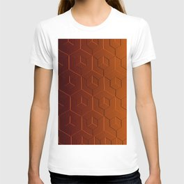Gradient Amber T-shirt