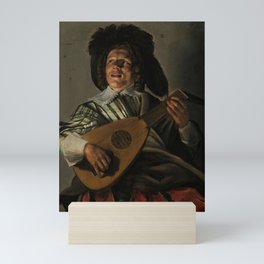 "Judith Leyster ""The Serenade"" Mini Art Print"