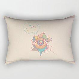 EYE SPEAK Rectangular Pillow