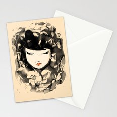 Ink Flower Girl Stationery Cards