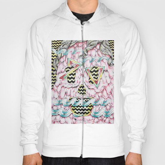 Face Melt Hoody