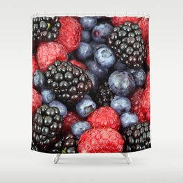 Berry Good! Shower Curtain
