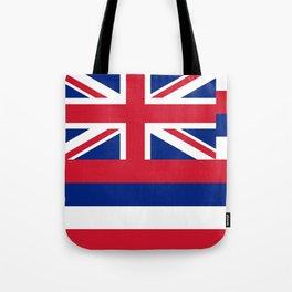 State flag of Hawaii Tote Bag