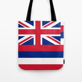 State flag of Hawaii Tote Bag