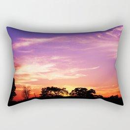 East Texas Sunset Rectangular Pillow