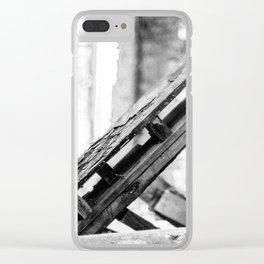 Here Lies Clear iPhone Case