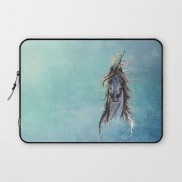 blue horse Laptop Sleeve