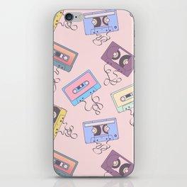 Cassette Pattern iPhone Skin
