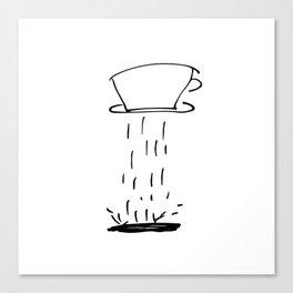 coffee drip Canvas Print