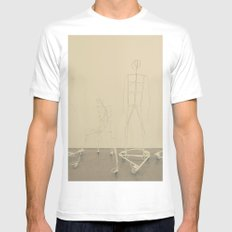 Factory head Mens Fitted Tee White MEDIUM