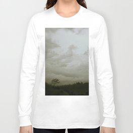 Dawn in the countryside Long Sleeve T-shirt