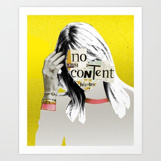 Content V3 Art Print