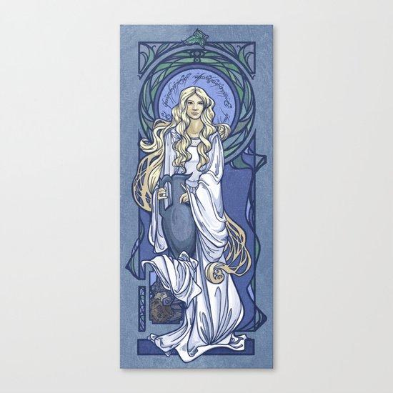 Galadriel Nouveau Canvas Print