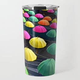 Umbrella Series - Looking Down Travel Mug