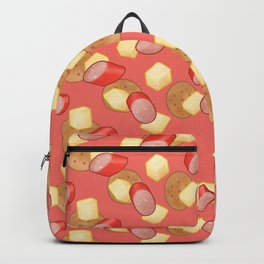 Cheese, Kabana and Jatz Feast in Red Backpack