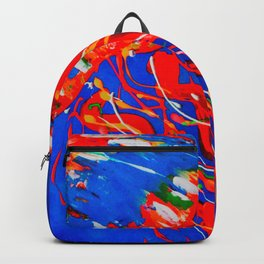 Red Jellyfish Backpack