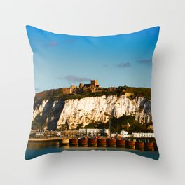 Port of Dover Throw Pillow