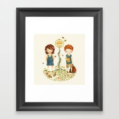 Back to School Framed Art Print