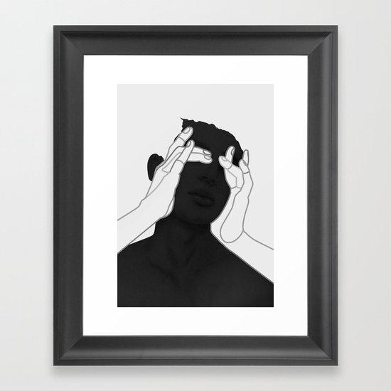 See No Evil Framed Art Print