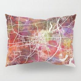 Saratoga Springs map Pillow Sham