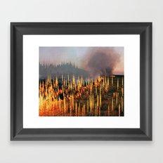Deaths Framed Art Print