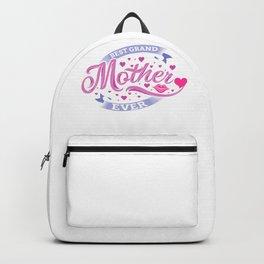 Best Grand Mother Ever Backpack