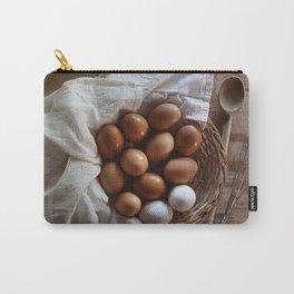 Farmhouse Fresh Eggs Carry-All Pouch