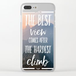 The Best View Clear iPhone Case