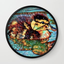 Duckling Dream | Painting Wall Clock