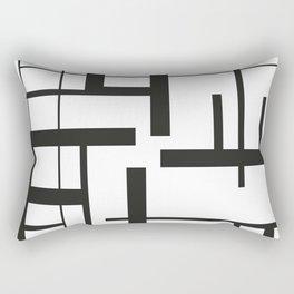 Lines #3 Rectangular Pillow