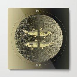 Planetary Mood 5b / Vertical Divergence 10-02-17 Metal Print