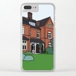 Cambridge struggles: Lucy Cavendish Clear iPhone Case