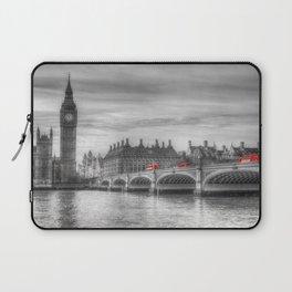 Westminster Bridge and Big Ben Laptop Sleeve