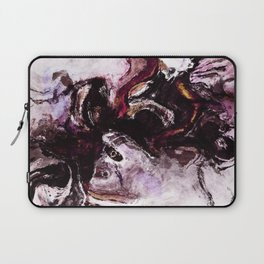 Purple Abstract Art / Surrealist Painting Laptop Sleeve