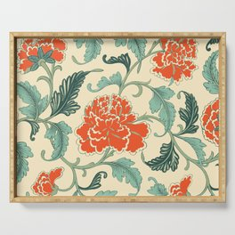 Chinese peony Serving Tray