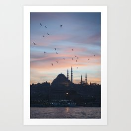 Golden Horn Art Print