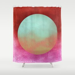 Circle Composition X Shower Curtain