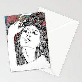 Water fairy [Fenu Paree] Stationery Cards