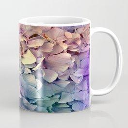 Soft Multi Color Hydrangea Coffee Mug