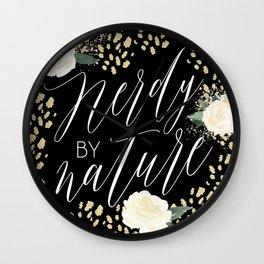 Nerdy by Nature Wall Clock