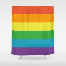 GAY PRIDE II Shower Curtain
