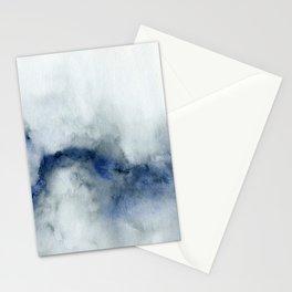 Indigo Abstract Painting   No.3 Stationery Cards
