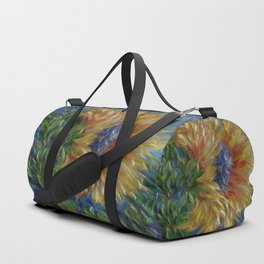 Sunflower Painting Duffle Bag