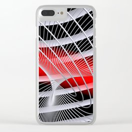 liking geometry -6- Clear iPhone Case